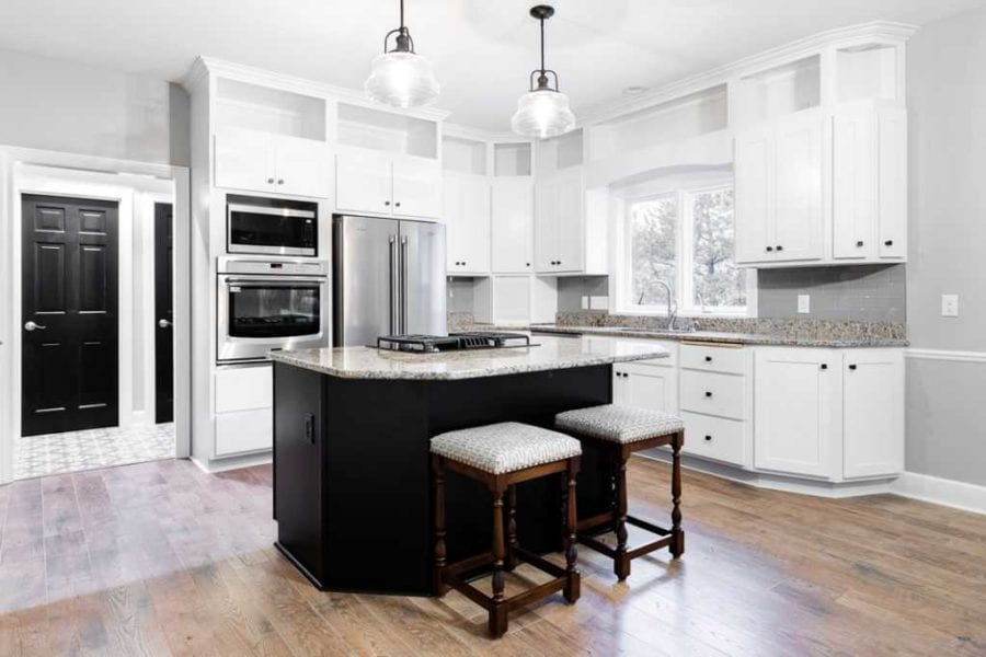 Brookwood Cabinet Company remodel white cabinets1