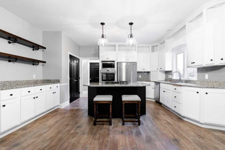 Brookwood Cabinet Company remodel white cabinets2